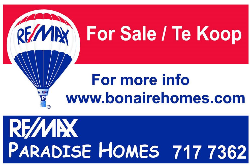 Land   For Sale   Lagoen Area, Bonaire, Bonaire  House For Sale Sign Template